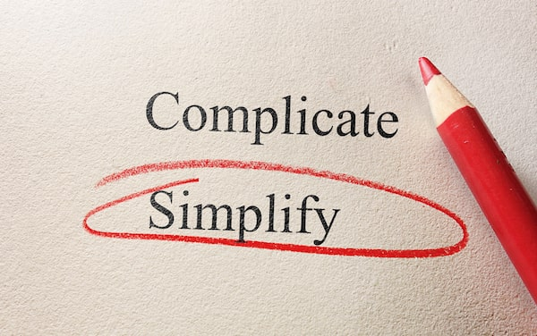 Complicate and Simplify