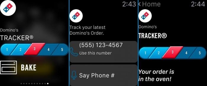Dominoes Order Tracker